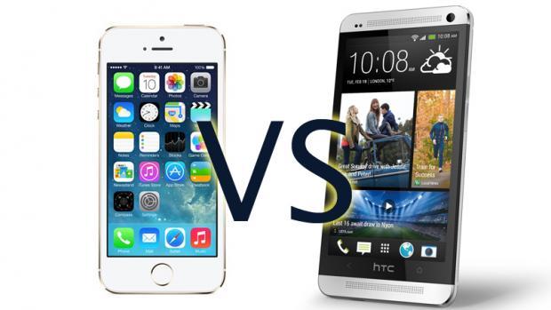 Sravnene dvuh moshhnyh smartfonov iPhone 5S i HTC ONE
