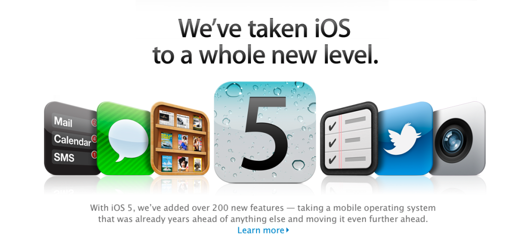 Naibolee vazhnye obnovlenija iOS 5