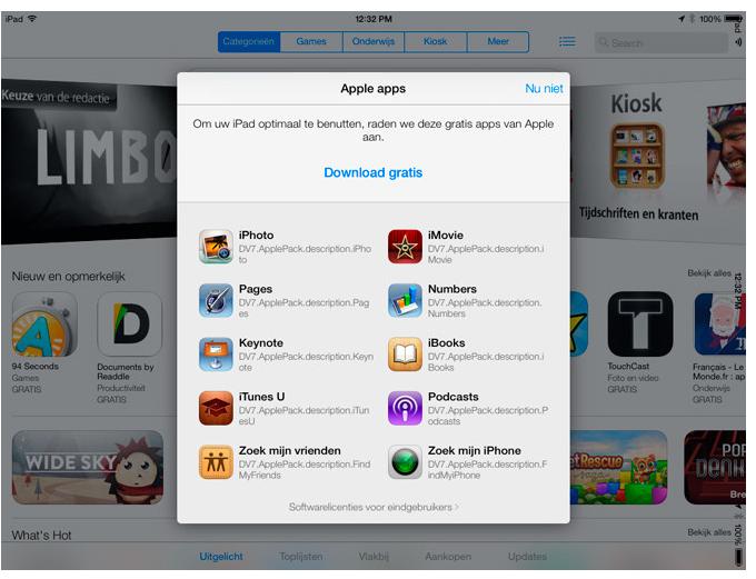 Brauzer i magazin App Store