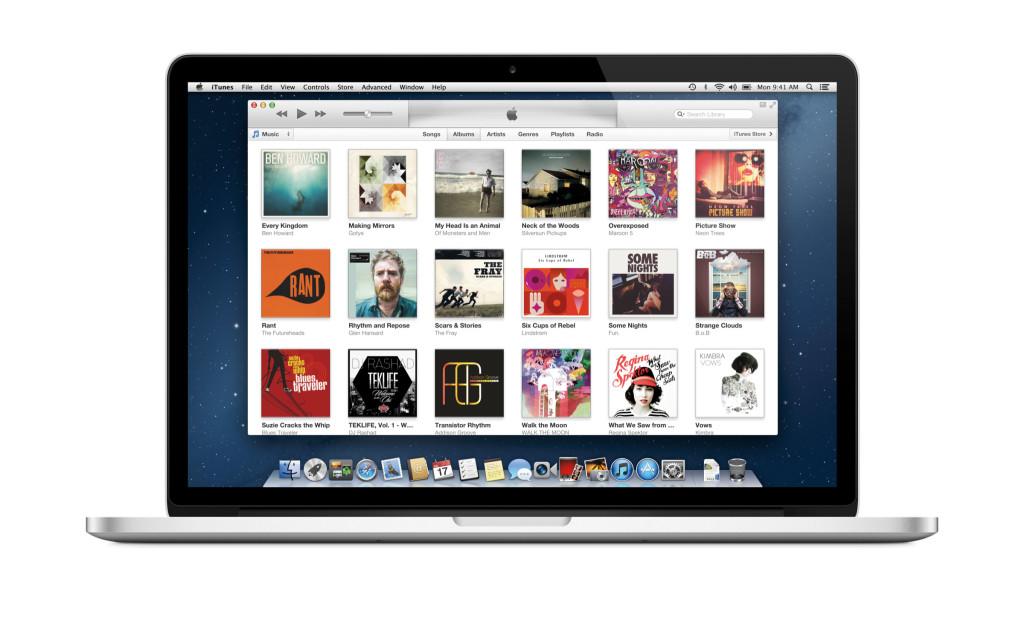 Komp'juter s nalichiem iTunes