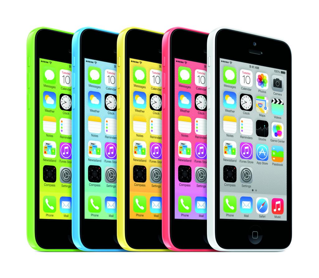 Vyberite svoj cvet iPhone 5s