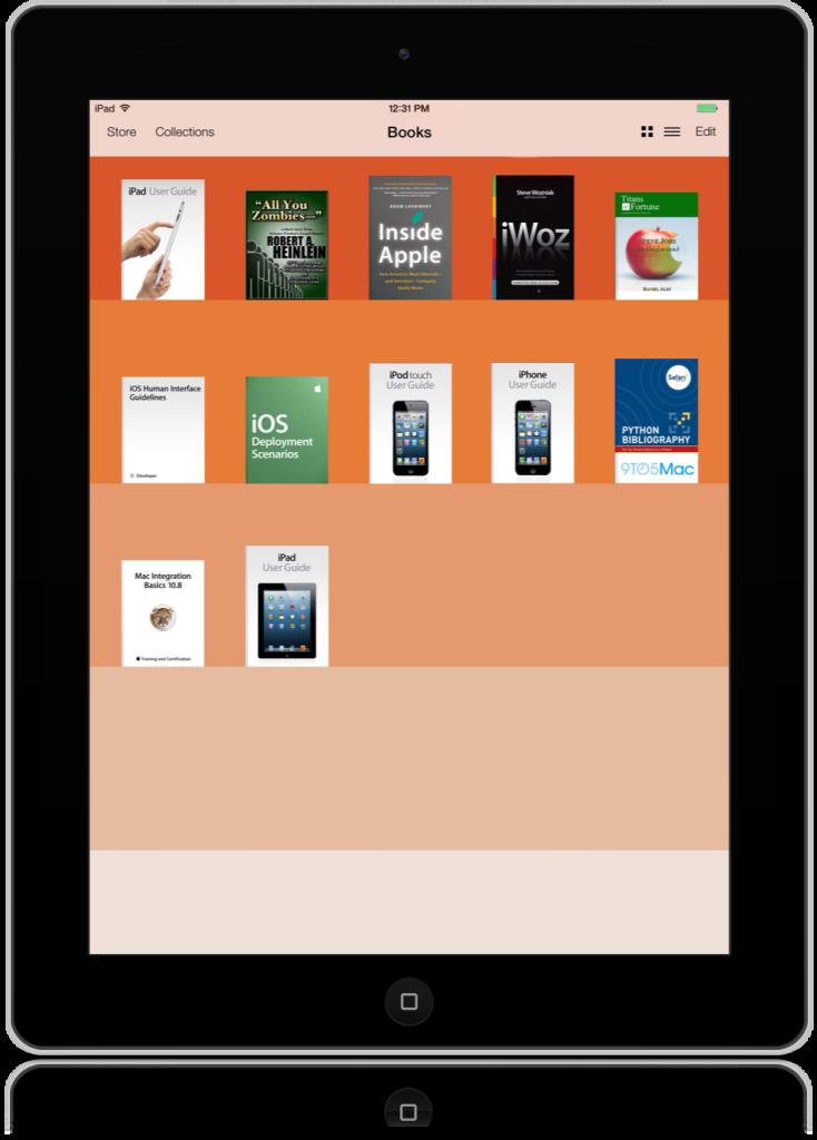 Polozhitel'nye storony iBooks