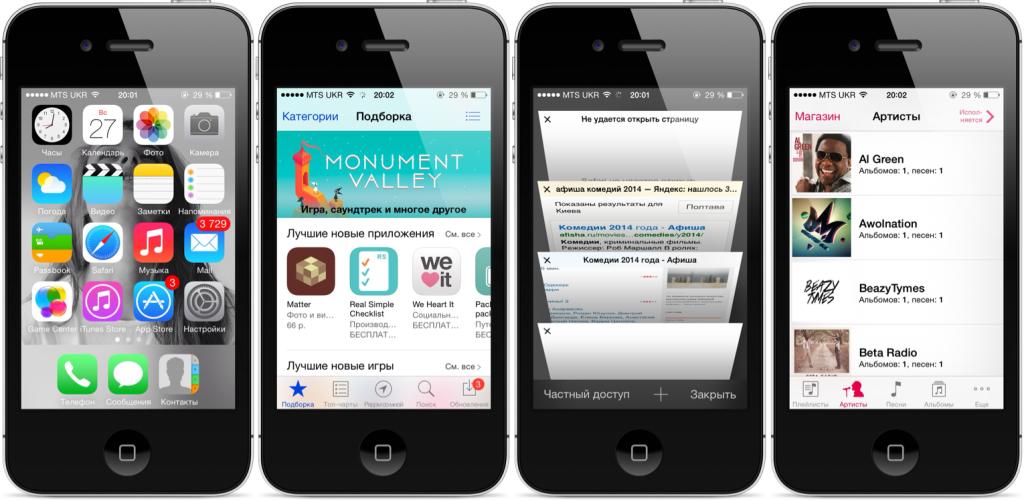 Radi chego stoit postavit' na iPhone 4S sed'muju versiju