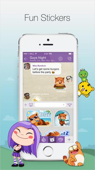 Viber Media dlja iOS