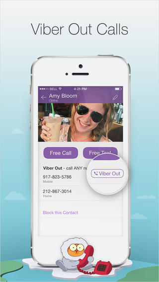 VoIP-zvonok s Viber na Viber po 3G-seti operatora ili po Wi-Fi