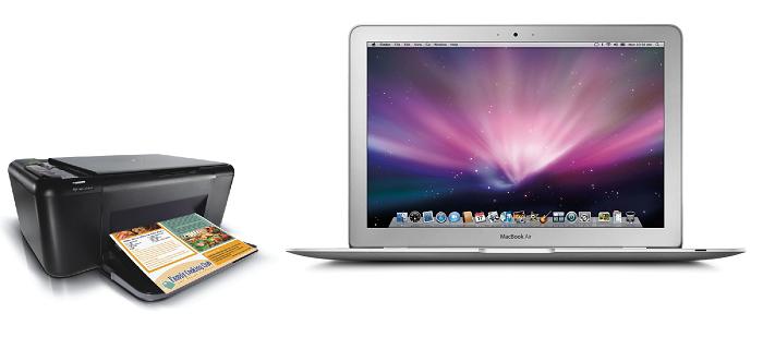 Podkljuchenie printera k MacBook