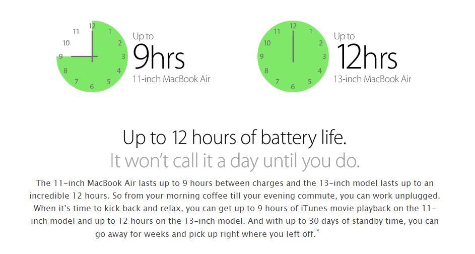 Sravnenie noutbukov Apple 2014 goda
