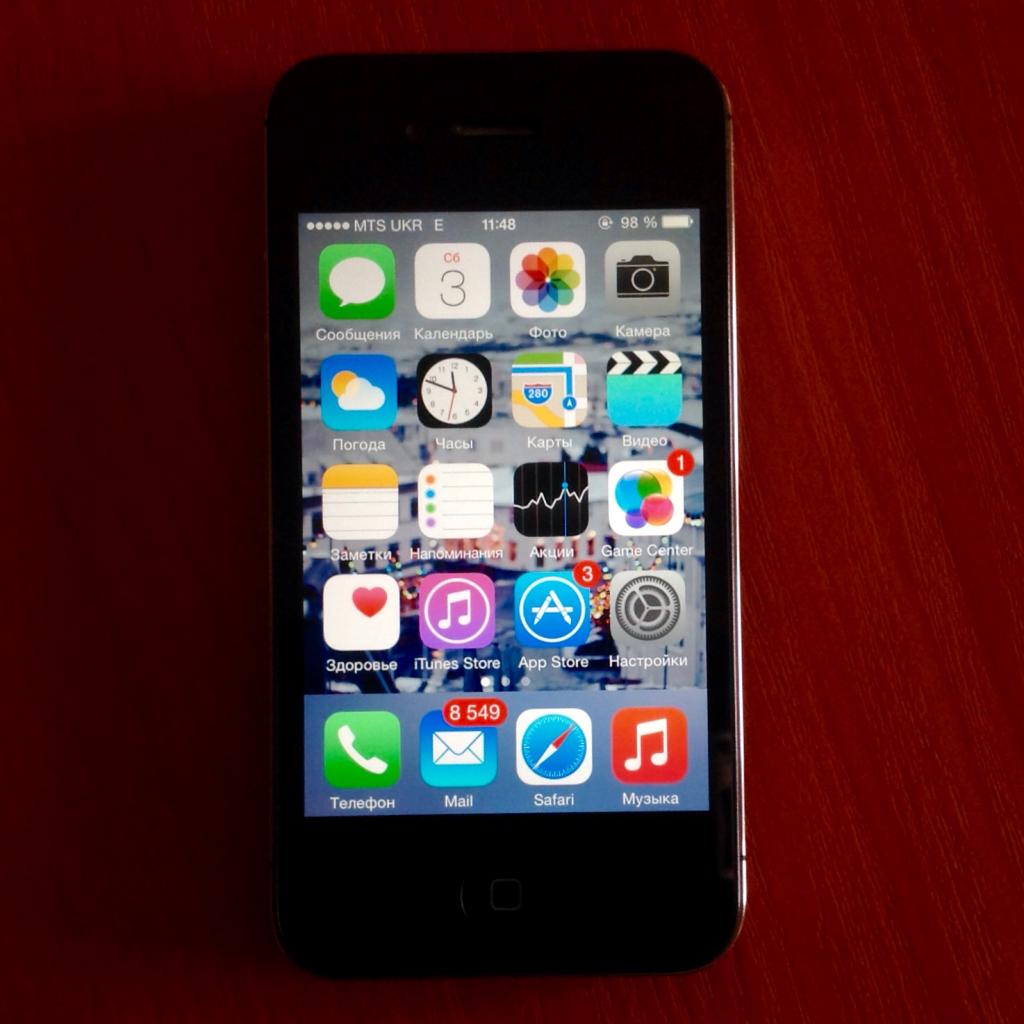 Osnovnye oshibki pri rabote iOS 8 na 4S