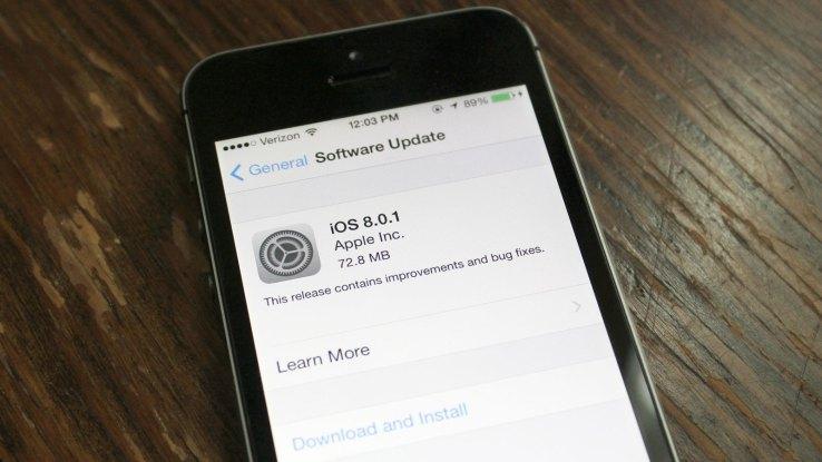 Neobhodimost' v otkljuchenii avtomaticheskoj zagruzki obnovlenij na iPhone i iPad