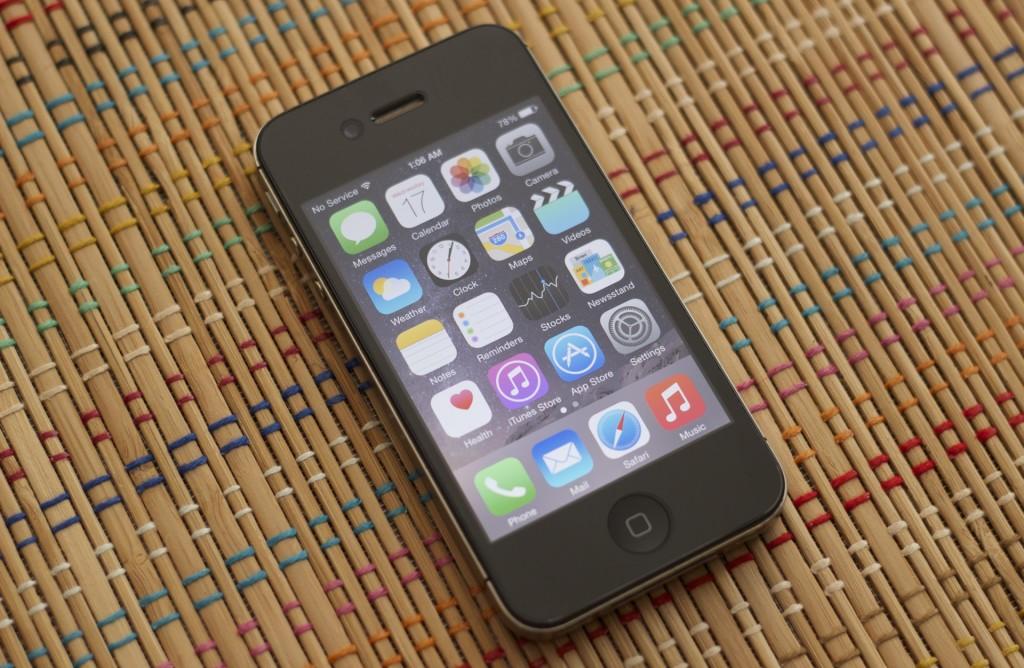 Problemy bystrodejstvija iPhone 4s s iOS 8