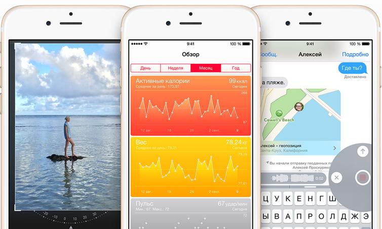 iOS 8 chto novogo