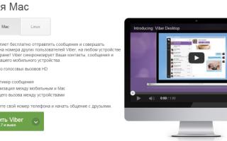 Описание программы Вибер для MacBook, тонкости и особенности