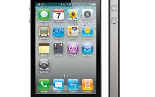 Айфон 4 описание, функции и технические характеристики