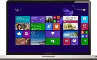 Как установить на макбук Windows различных версий