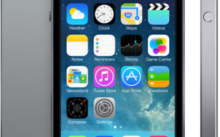 iPhone 5s Black обзор гаджета от Apple: дизайн, нововведения и прочее.