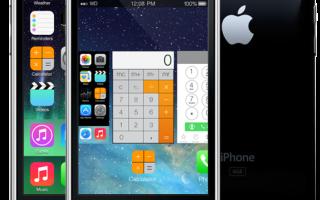 iPhone 3gs — можно ли поставить на него седьмую версию iOS