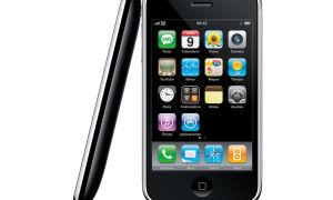 iPhone 3G — обзор модели. Дисплей, технические характеристики.