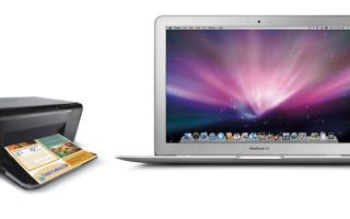 Различные способы подключения принтера к MacBook