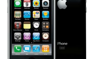 Apple iPhone 3GS — описание, характеристики, нововведения