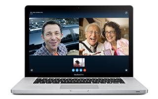 Приложение Skype для различных устройств MacBook