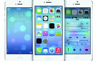 Обзор iOS 7: зарядка, Siri, переработанный дисплей и многое другое