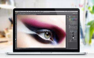 Photoshop, а так же прочие фоторедакторы  для MacBook
