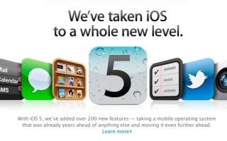 Подробный обзор финальной версии прошивки iOS 5