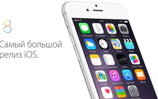 После установки iOS 8 вы получите новые функции и приложения