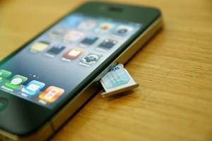 sim iPhone 4