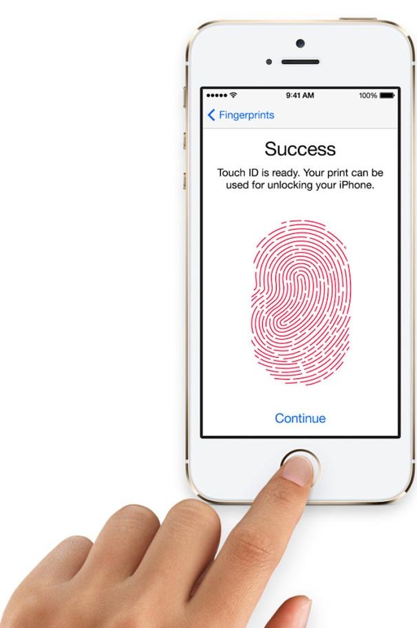 iphone 5s skaner otpechatkov pal'cev