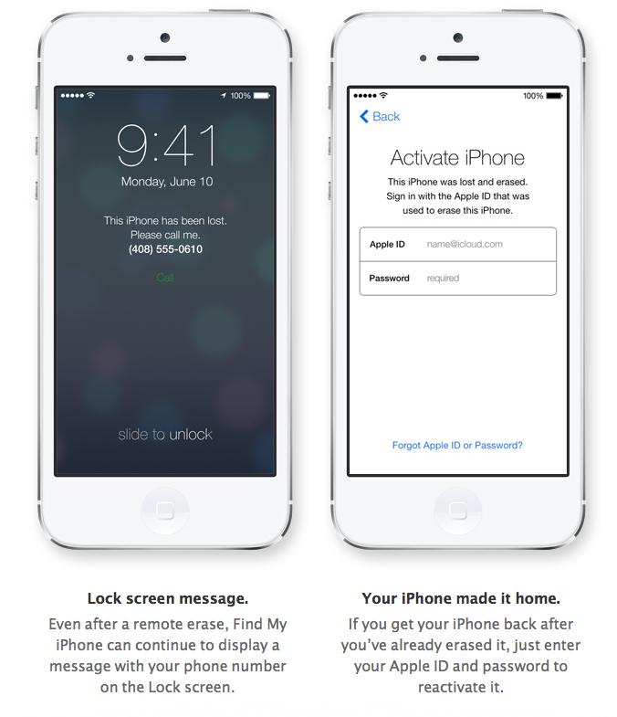 Kak aktivirovat' sed'muju iOS na zalochennom gadzhete