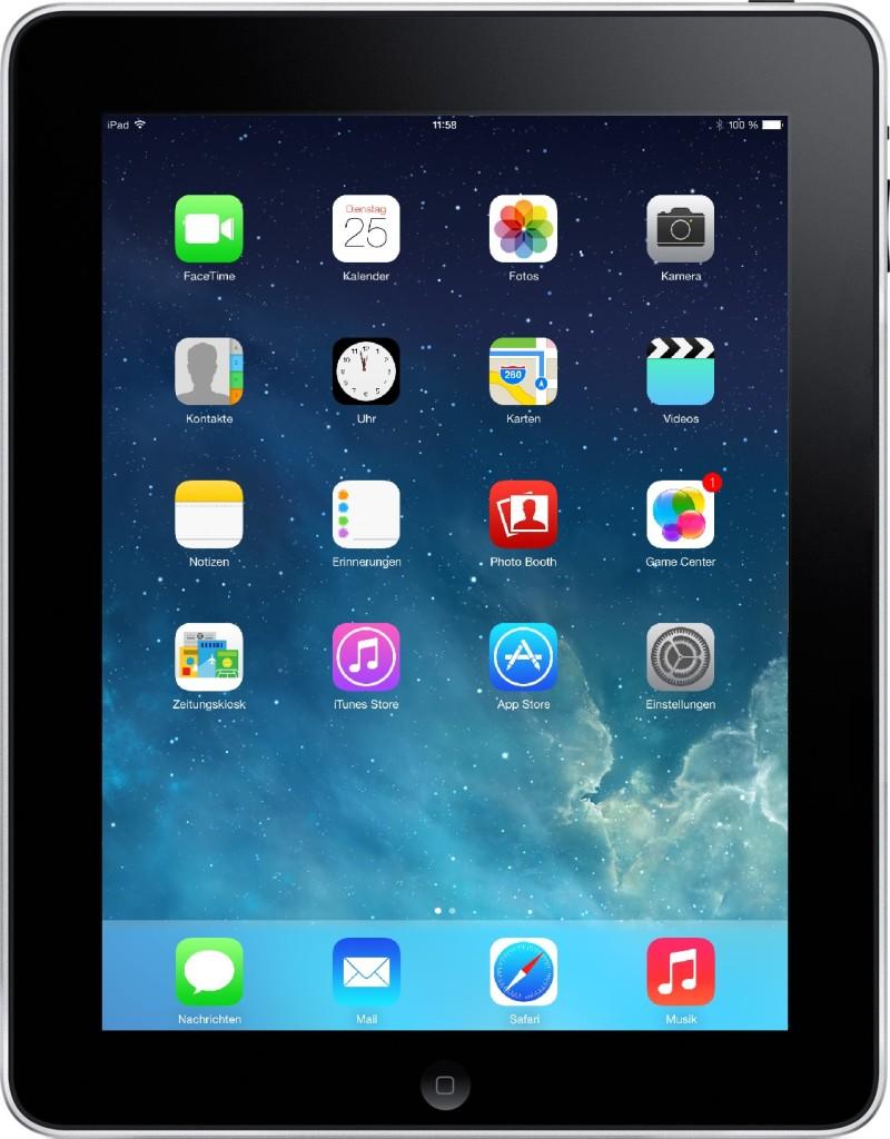 Stavim iOS 7 na planshet iPad 1