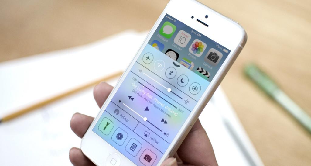 iOS 7 ne obnovljaetsja