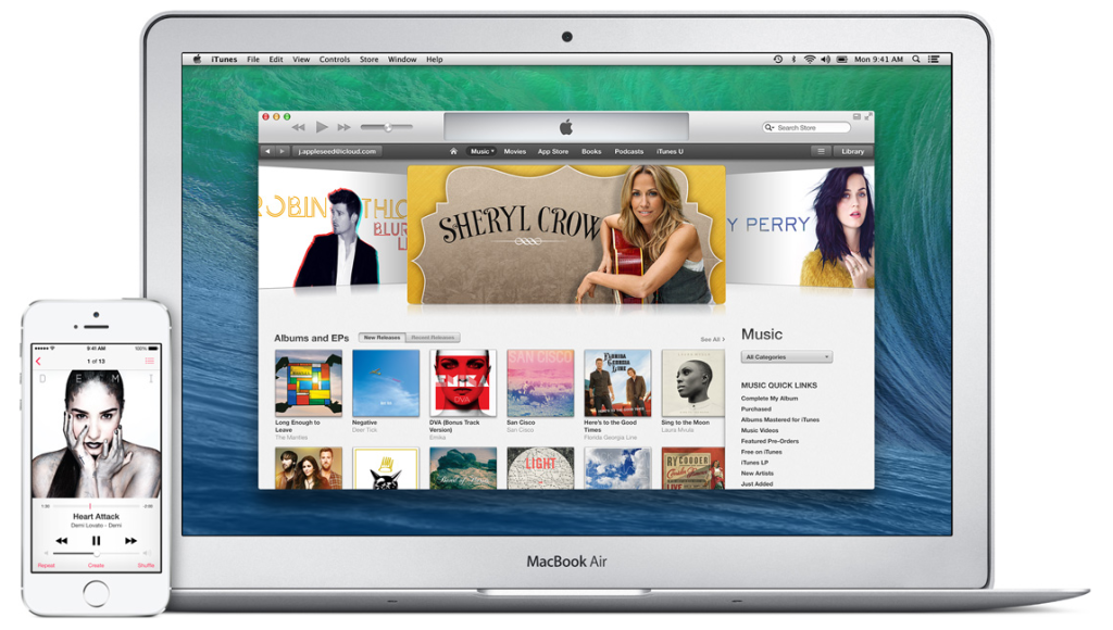 iTunes, a ne iCloud