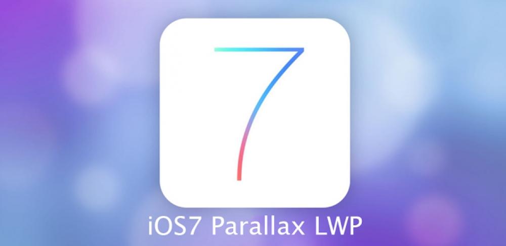 Parallaks v iOS 7