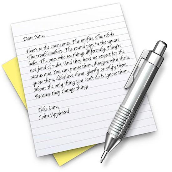 Mac OS X i redaktory teksta