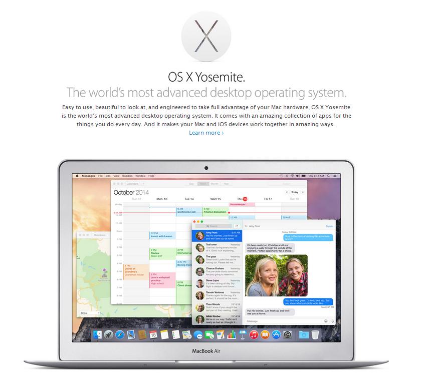 Minusy Mac OS X