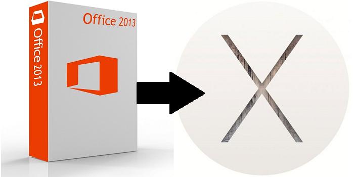 Ustanovka Microsoft Office Word na Mac OS X s diska