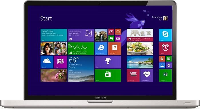 Ustanovka Windows na Mak