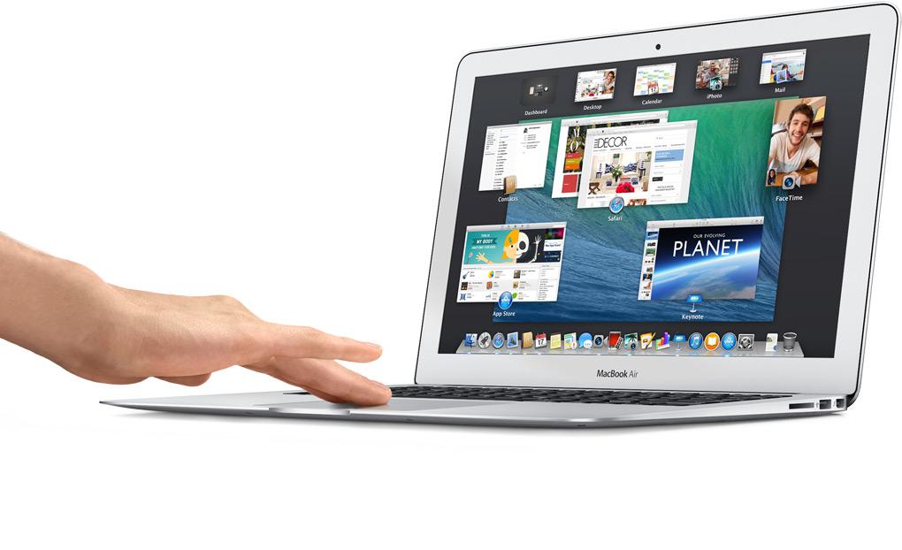 MacBook i sistema upravlenija tachpadom