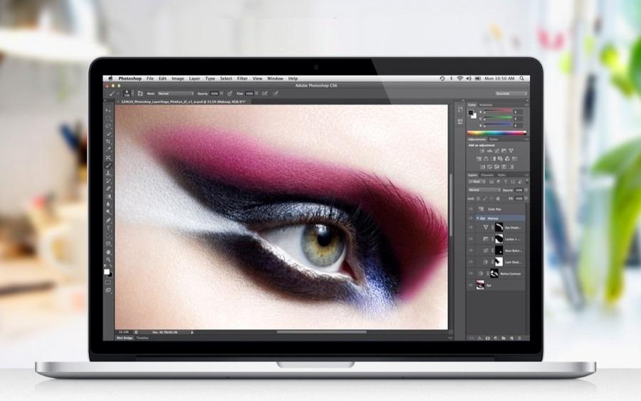 Photoshop na MacBook