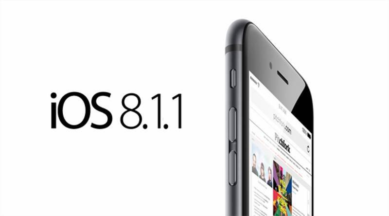 Obnovlenie iOS 8.1.1 dlja smartfonov ili iPad