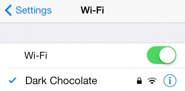 Net seti WiFi – ustranenie problem
