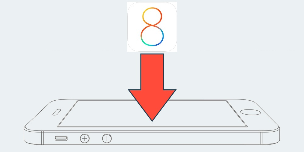 Otkat iOS 8 k iOS 7