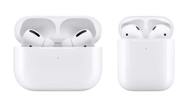 сравнение airpods с airpods pro
